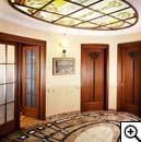 светящийся потолок панно